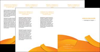 exemple depliant 4 volets  8 pages  texture contexture structure MLGI56201