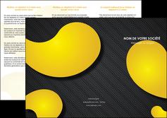 personnaliser modele de depliant 3 volets  6 pages  texture contexture structure MLIGBE56231