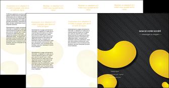 faire depliant 4 volets  8 pages  texture contexture structure MLIGBE56253
