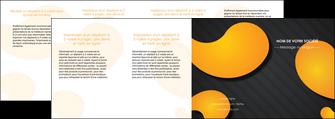 creer modele en ligne depliant 4 volets  8 pages  texture contexture structure MIF56471