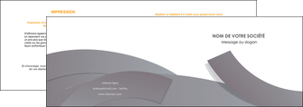 exemple depliant 2 volets  4 pages  texture contexture structure MLIG56655