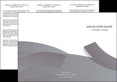 imprimerie depliant 3 volets  6 pages  texture contexture structure MIF56665