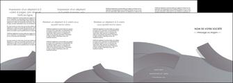 realiser depliant 4 volets  8 pages  texture contexture structure MIF56683