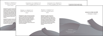 personnaliser modele de depliant 4 volets  8 pages  texture contexture structure MIF56689