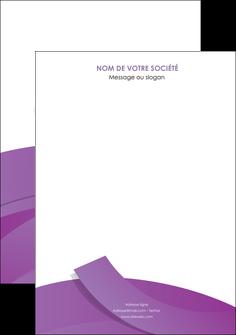 realiser affiche violet fond violet violet pastel MLGI56915