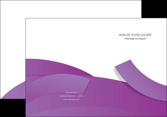 exemple pochette a rabat violet fond violet violet pastel MIF56923