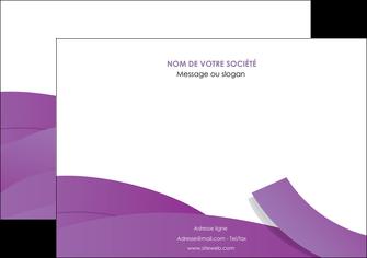 personnaliser modele de affiche violet fond violet violet pastel MIF56933