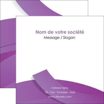 modele flyers violet fond violet violet pastel MIF56943