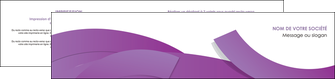 maquette en ligne a personnaliser depliant 2 volets  4 pages  violet fond violet violet pastel MLGI56945