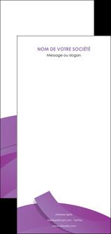 imprimerie flyers violet fond violet violet pastel MIF56959