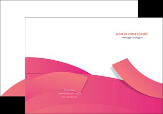 personnaliser modele de pochette a rabat orange rose couleur MIF57131