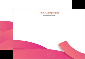 creation graphique en ligne affiche orange rose couleur MLGI57139
