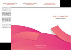 Impression Plaquette entreprise  papier à prix discount et format Dépliant 6 pages pli accordéon DL - Portrait (10x21cm lorsque fermé)