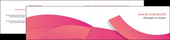 faire modele a imprimer depliant 2 volets  4 pages  orange rose couleur MLGI57153