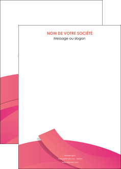 creer modele en ligne affiche orange rose couleur MLGI57161