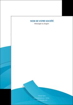 modele affiche bleu bleu pastel fond bleu pastel MIF57183