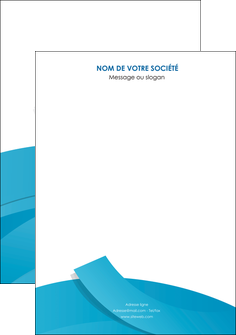 imprimer affiche bleu bleu pastel fond bleu pastel MIF57185