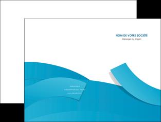 creer modele en ligne pochette a rabat bleu bleu pastel fond bleu pastel MIF57191