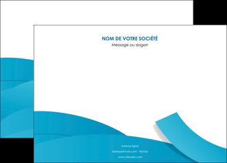 creer modele en ligne affiche bleu bleu pastel fond bleu pastel MIF57197