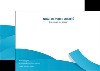 creer modele en ligne flyers bleu bleu pastel fond bleu pastel MIF57205