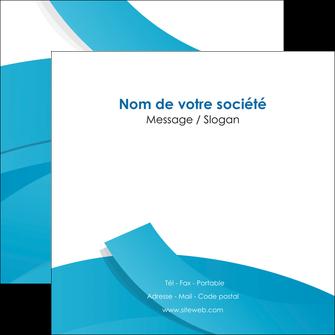 impression flyers bleu bleu pastel fond bleu pastel MIF57209