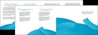 exemple depliant 4 volets  8 pages  bleu bleu pastel fond bleu pastel MLIG57221