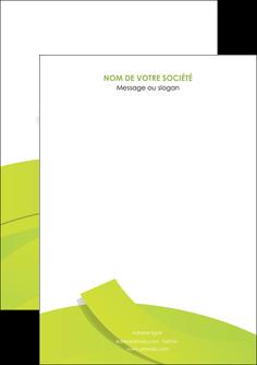 faire modele a imprimer flyers espaces verts vert vert pastel colore MLIG57231