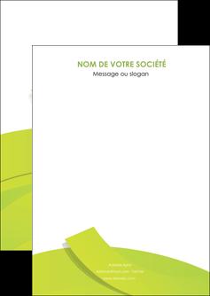 maquette en ligne a personnaliser flyers espaces verts vert vert pastel colore MLGI57233