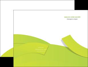 faire modele a imprimer pochette a rabat espaces verts vert vert pastel colore MLIG57241