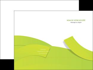 exemple pochette a rabat espaces verts vert vert pastel colore MLGI57243