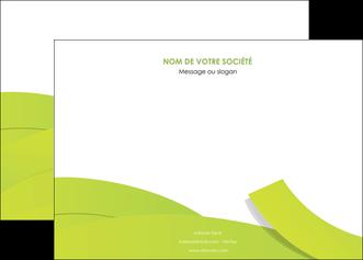 imprimer affiche espaces verts vert vert pastel colore MLIG57249
