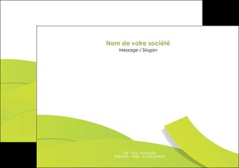creer modele en ligne flyers espaces verts vert vert pastel colore MLIG57253