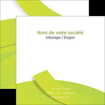 Impression flyer a6 Espaces verts papier à prix discount et format Flyers Carré 14,8 x 14,8 cm