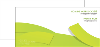 imprimer carte de correspondance espaces verts vert vert pastel colore MLGI57267