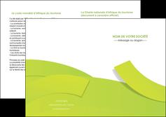 personnaliser maquette depliant 2 volets  4 pages  espaces verts vert vert pastel colore MLGI57269