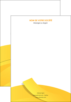 creer modele en ligne affiche jaune fond colore fond jaune MIF57339