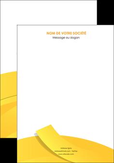 faire affiche jaune fond colore fond jaune MIF57341
