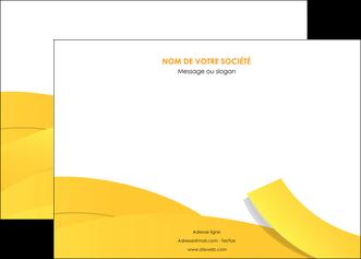 realiser affiche jaune fond colore fond jaune MIF57353