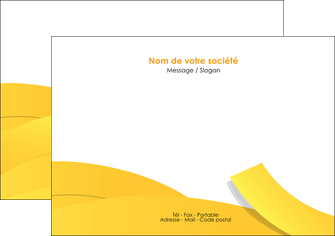 creation graphique en ligne flyers jaune fond colore fond jaune MLGI57357