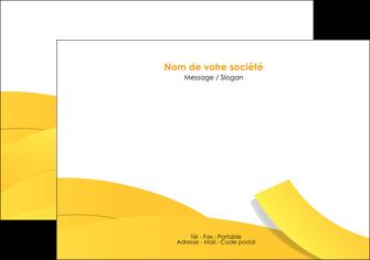 creation graphique en ligne flyers jaune fond colore fond jaune MLIG57357
