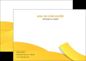 creer modele en ligne flyers jaune fond colore fond jaune MLIG57361