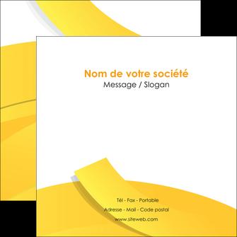 faire modele a imprimer flyers jaune fond colore fond jaune MLIG57365