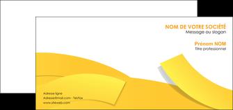 maquette en ligne a personnaliser carte de correspondance jaune fond colore fond jaune MLIG57371