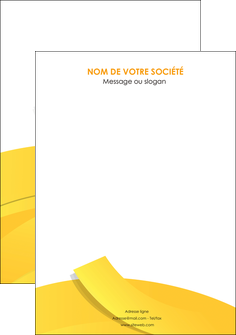 faire flyers jaune fond colore fond jaune MLGI57379