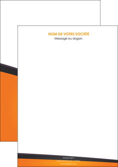 imprimer affiche orange fond orange colore MIF57627