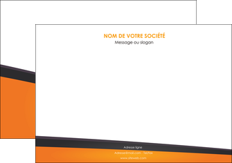 creer modele en ligne affiche orange fond orange colore MIF57639