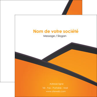 creation graphique en ligne flyers orange fond orange colore MIF57655