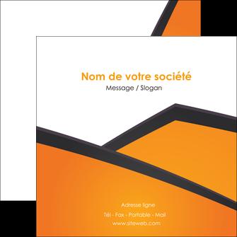 creation graphique en ligne flyers orange fond orange colore MLGI57655