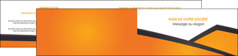 creer modele en ligne depliant 2 volets  4 pages  orange fond orange colore MLGI57657