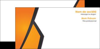 personnaliser modele de enveloppe orange fond orange colore MLGI57659